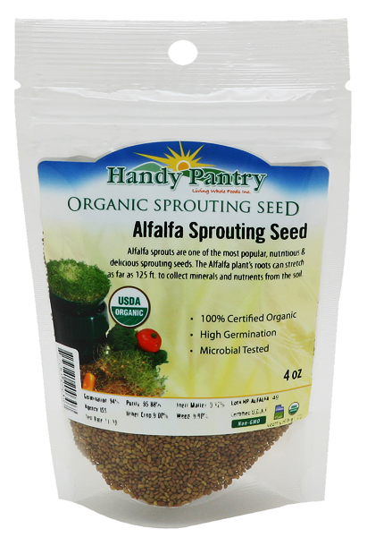 Alfalfa Seeds - 4oz