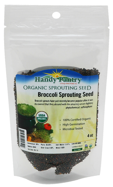 Broccoli Sprouting Seeds - 4oz