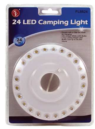 24 LED Camping Light - CLOSEOUT