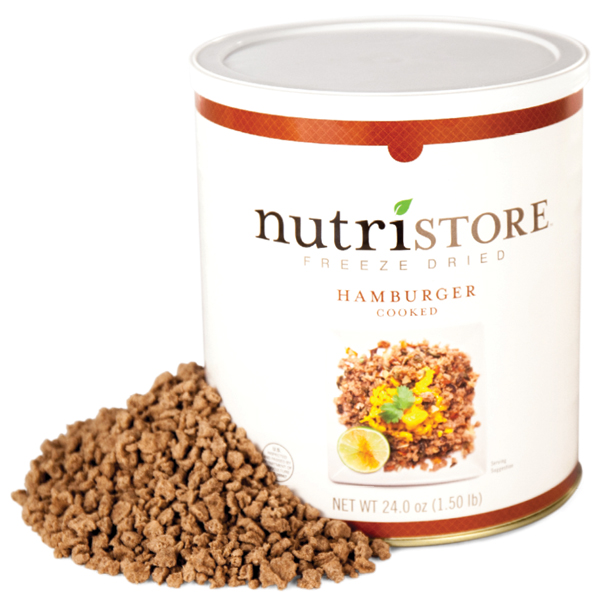 Hamburger - Ground Beef - Freeze Dried