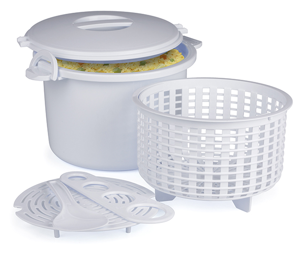 Microwave Rice and Pasta Cooker Set - 17 pc.