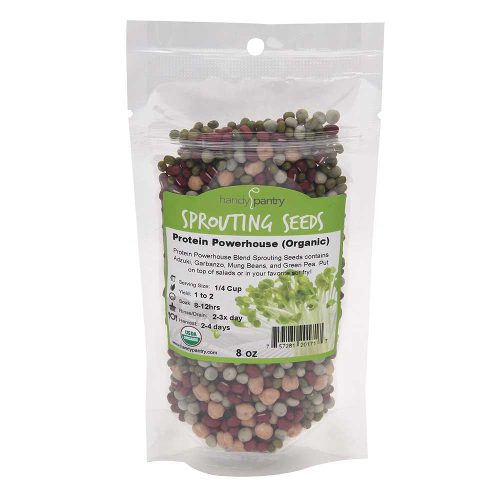 Protein Powerhouse Sprouting Mix 8 oz