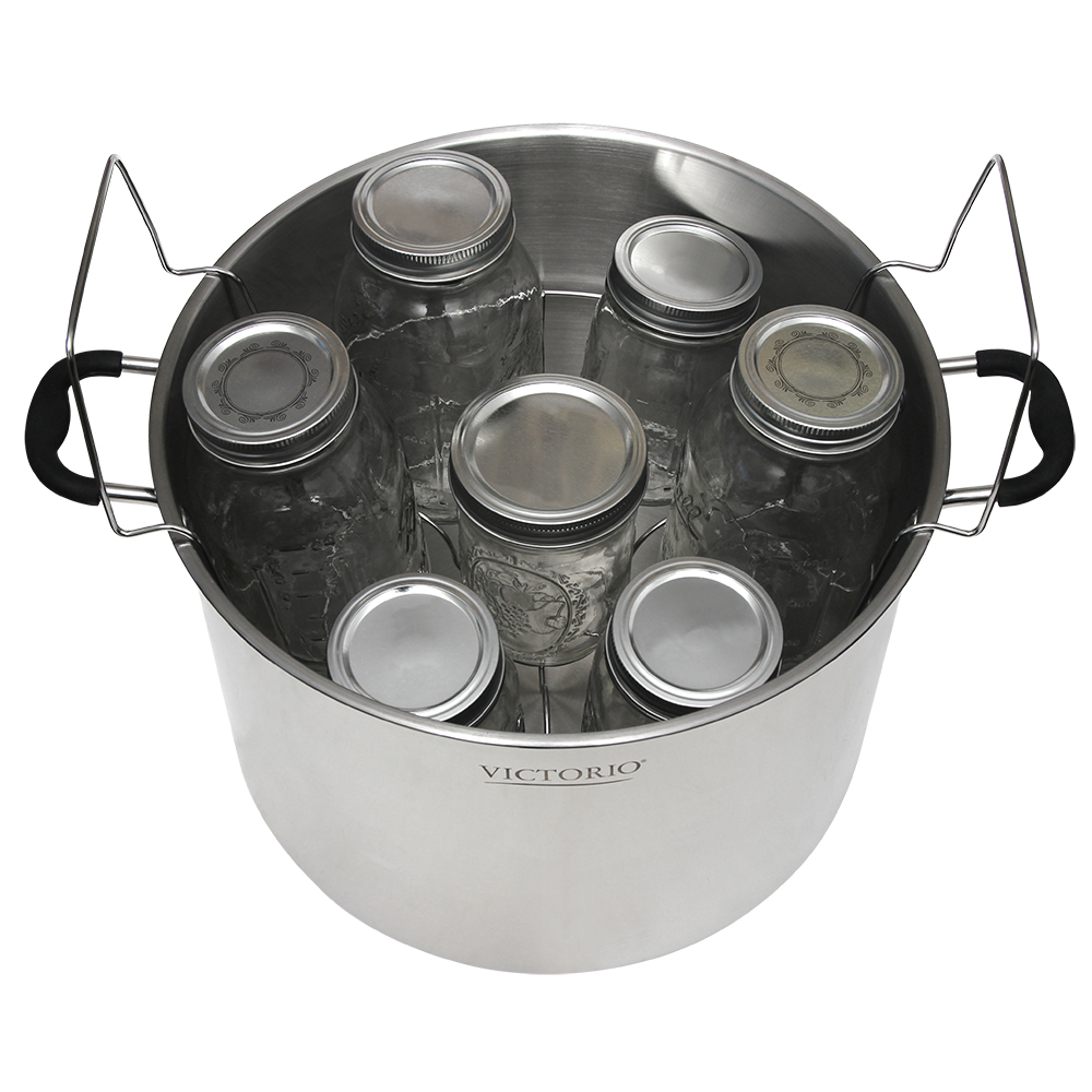 Stainless Steel Canning Rack With Jar Dividers