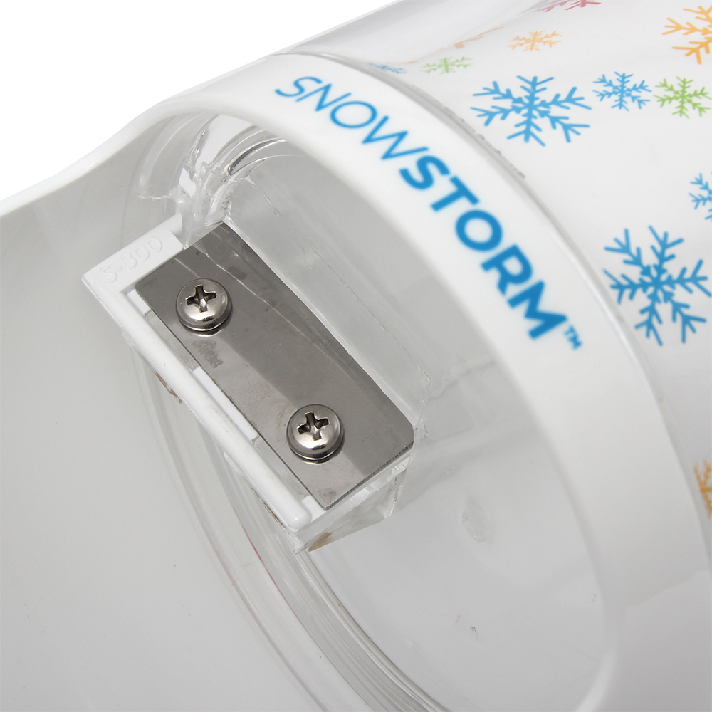 Time for Treats SnowStorm Hand Crank Ice Shaver