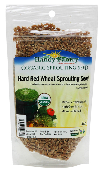 Red Winter Wheat Sprouting Seeds - 8oz