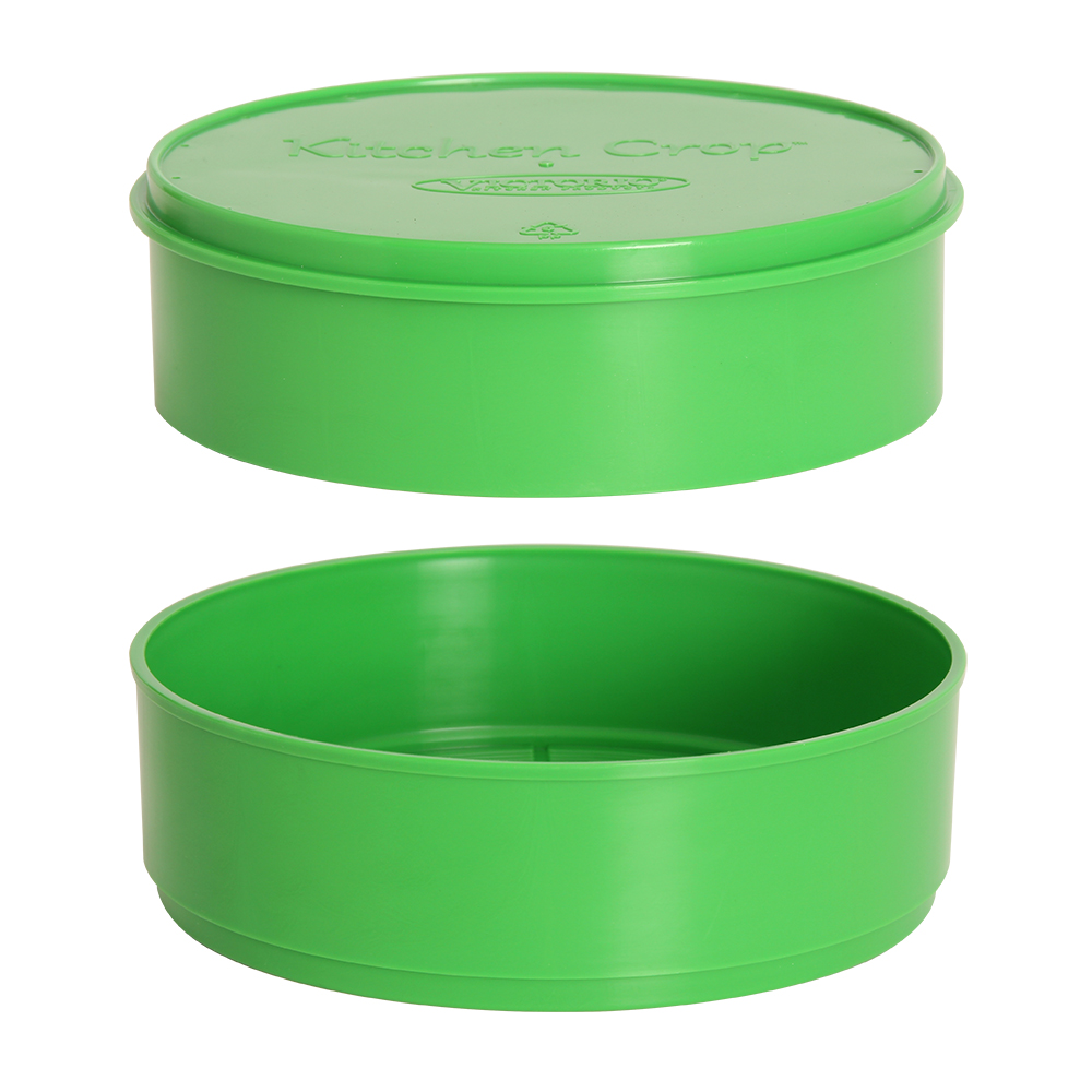 Reservoir Lid and Base (Green) for VKP1200 Sprouter