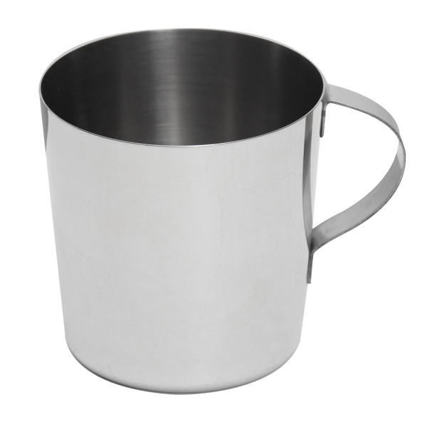 Stainless Steel Heavy Drinking Cup - 10oz